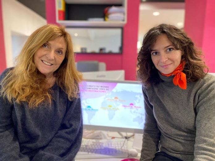 Christine Crispin, Présidente Fondatrice de Climats du Monde et Olivia Calvin, Directrice Générale en charge du Commercial - DR