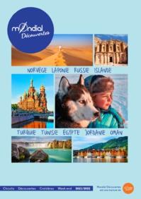 La brochure Mondial Découvertes 2021 - DR