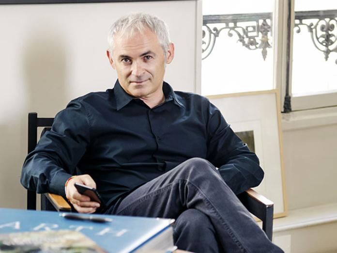 """Jean-François Rial au micro de France Inter : """"Pour la première fois de son histoire mon entreprise va perdre de l'argent"""" - DR"""