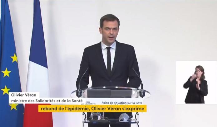 Conférence de presse d'Olivier Véran ministre de la Santé ce jeudi 18 janvier 2021 - DR