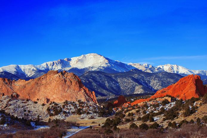 Pikes Peak mountain - © Pixabay