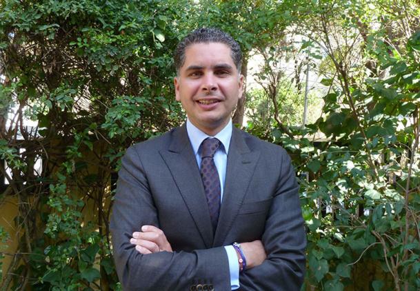 """Mehdi Allani est le vice-président Hôtels Sultan, en charge de l'Unité Promotion/Marketing du Plan """"Horizon 2016"""" - DR : M.S."""