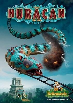 Huracan, la nouvelle attraction de Bellewaerde Park sera inaugurée le samedi 30 mars 2013 - DR