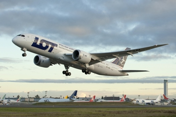 LOT veut réserver ses liaisons long-courriers au Boeing 787 Dreamliner - Photo DR