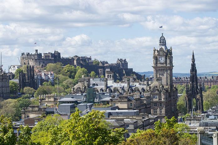 Edimbourg, vue de Calton Hill - DR VisitScotland - Kenny Lam