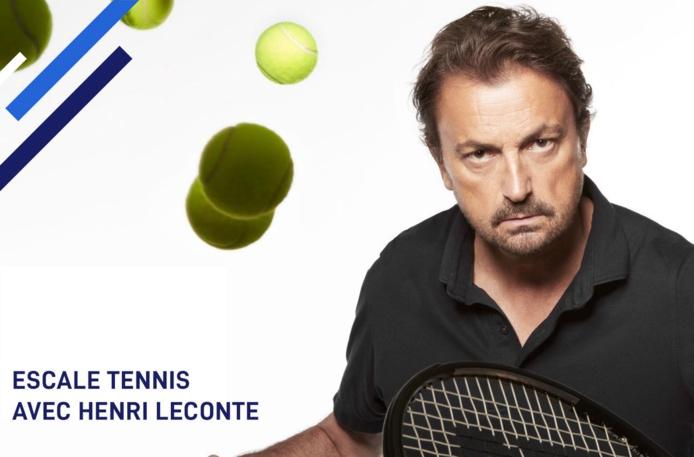 Henri Leconte fait partie des coach qui participeront aux Escales Sensations - DR
