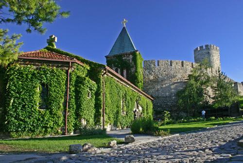 L'église de Kalemegdan - credits D.Bosnic- office du tourisme