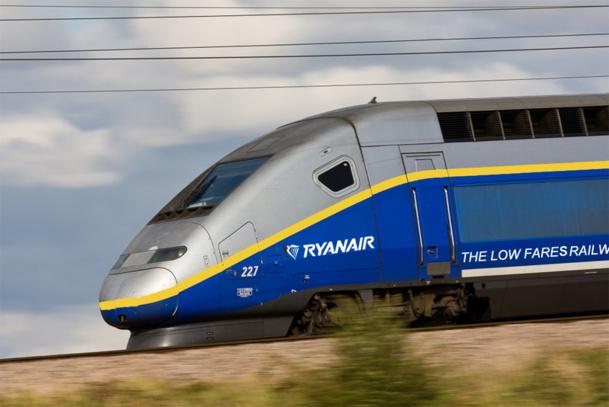 Le projet de Train Low Cost proposera des places assises mais aussi debout - DR