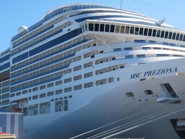 Le passager tiré au sort pour prendre les commandes du MSC Preziosa sera rémunéré en conséquence - Photo P.C.