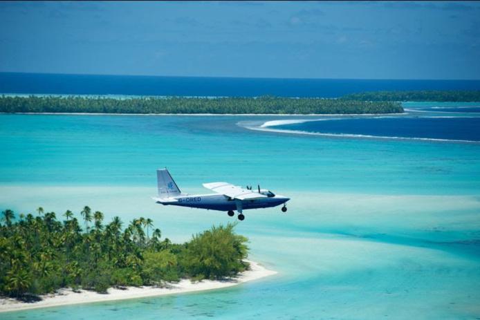 L'archipel de Tetiaroa, restera malheureusement fermé jusqu'au 31 mars inclus /crédit DR