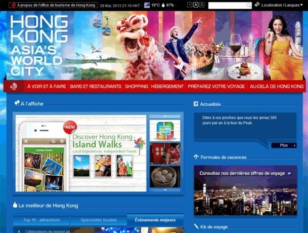 L'OT Hong Kong lance un nouveau site web en français
