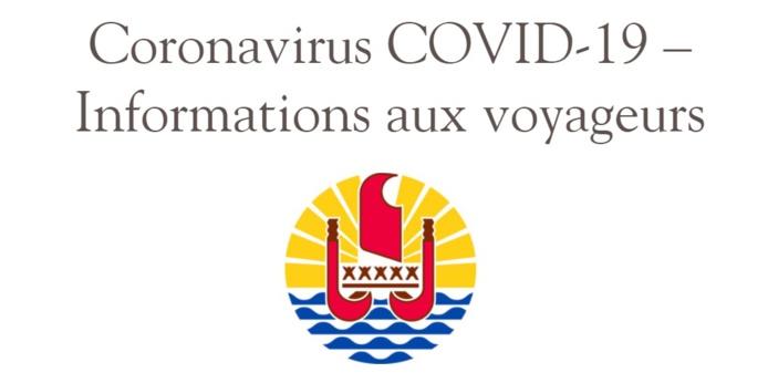 L'application de l'interdiction de se rendre en Polynésie a débuté le 3 février 2021 - DR