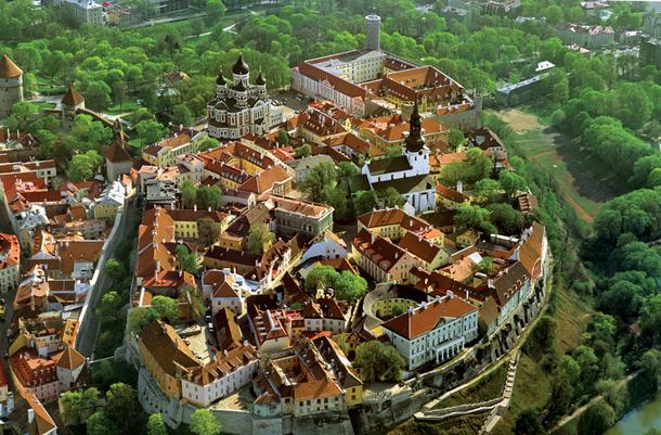 La vieille ville de Tallinn, très appréciée comme city-break. DR