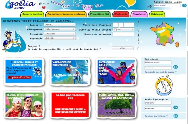 Le site internet de Goélia reçoit 1,5 million de visiteurs uniques et compte 100 000 abonnés dans sa newsletter - DR
