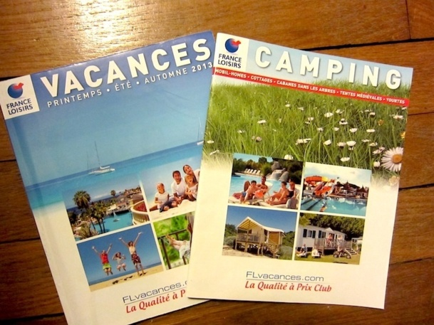 Pour la première fois, Voyages Loisirs a divisé sa production été en deux brochures, l'une d'entre elle dédiée entièrement au camping. DR