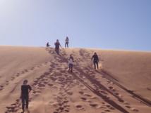 A l'assaut des dunes du Wadi Rum - DR : A.P.