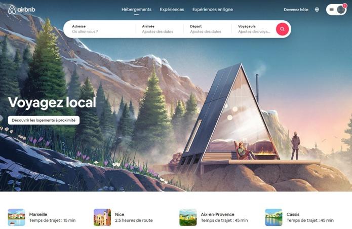 Airbnb lance une nouvelle campagne pour soutenir tout au long de l'année les séjours dans les villages de montagne et les stations de ski - DR : Airbnb