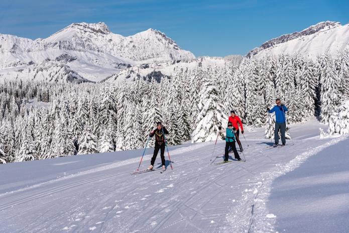 Parmi les autres disciplines à l'essor fulgurant constaté par les professionnels de terrain, le ski de randonnée et le ski de fond. - DR Savoie Mont-Blanc Martelet
