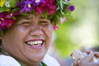 © Croisières Aranui / Le légendaire accueil et sourire des Polynésiens