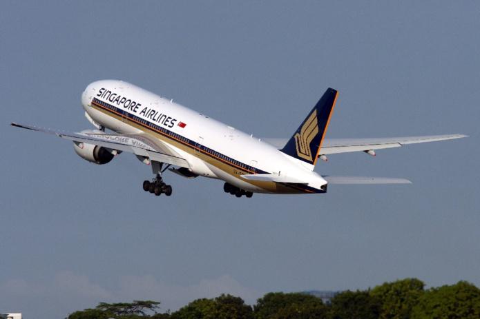 Boeing 777-200 de la compagnie Singapore Airlines - DR