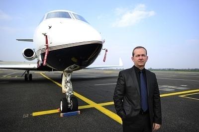 Didier Pianelli est le nouveau Directeur de l'aéroport Lyon-Bron depuis le 18 mars 2013 - Photo O.Chassignole
