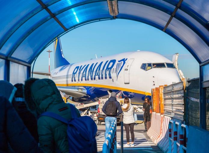Si un appel d'offres était lancé pour des créneaux horaires, Ryanair se positionnerait sur eux en partie ou en totalité - DR : Depositphotos @Patryk_Kosmider
