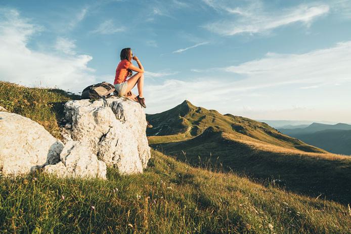 Randonnée sur le sommet du Reculet © Bestjobers Elisa & Max / Bourgogne-Franche-Comté Tourisme