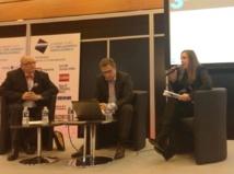 De gauche à droite : Régis Chambert, Président d'Avexia voyages       Yann Barbizet, Pdg du cabinet Concomitance        Anne-Laure Tellier, chef Zone export chez Lampe Berger