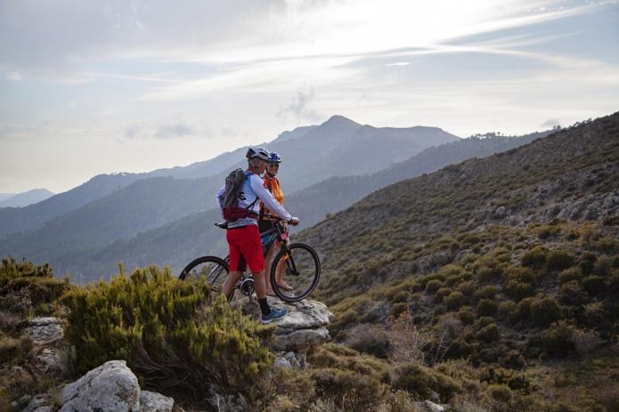 Le vélo a maintenant son itinéraire avec la GT 20, plus de 600km à travers la Corse. DR : Sylvain Alessandri.