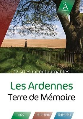 """Couverture de la brochure """"Les Ardennes, terre de mémoire"""" - DR"""