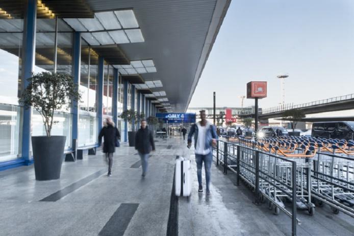 L'aéroport d'Orly a fermé son terminal 4 lundi 15 février 2021. Ici, vue extérieure du linéaire d'Orly 4, Paris-Orly en 2019 - DR : Sidney Léa Le Bour pour Groupe ADP