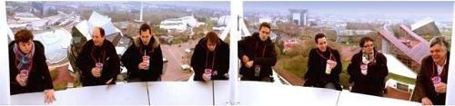 L'Aérobar permet de boire une verre à 35 mètres du sol - Photo DR