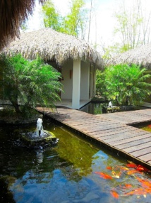 Ambiance tropicale pour les cabines du spa de l'hôtel Dreams La Romana. DR LAC