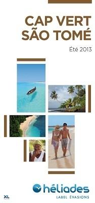 Couverture de la nouvelle brochure Cap Vert / São Tomé Été 2013 d'Héliades - DR