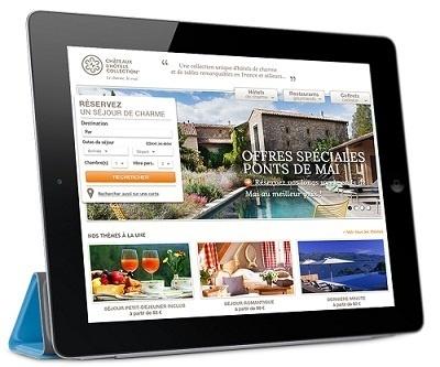 Châteaux & Hôtels Collection a récemment lancé une nouvelle version de son site Internet - DR