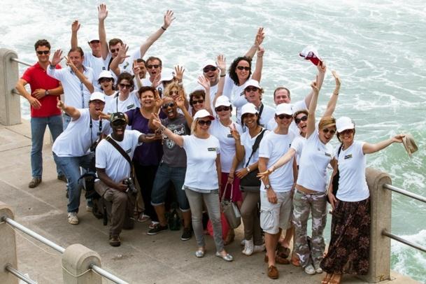 Les journalistes invités - photo Yann Macherez
