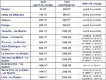 Air Europa met en place des tarifs spéciaux pour les AGV