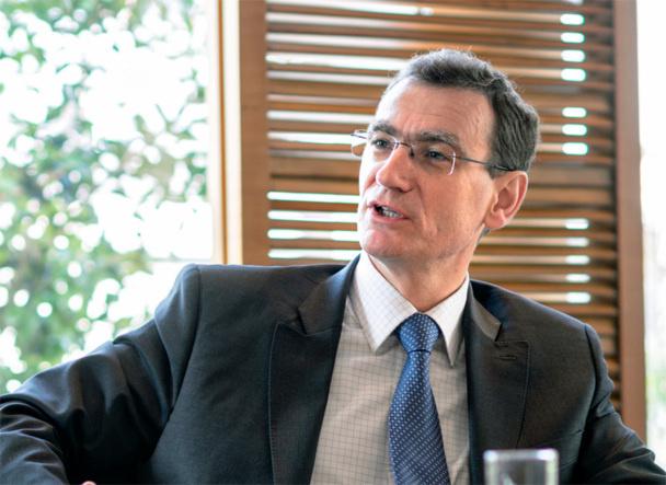 Michel Rességuier, le Pdg du groupe en France devrait dévoiler son plan et sa vision à la presse le 22 avril - DR