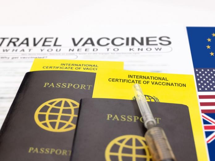 Les députés européens souhaitent un certificat de vaccination commun, qui pourrait devenir l'alternative aux tests PCR et aux exigences de quarantaine - DR : Depositphotos @toa55