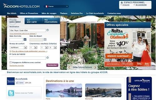 Pour 2013, AccorHotels.com se décline en arabe et en turc - Capture d'écran