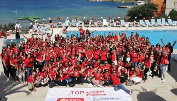 200 agents de voyages à Bodrum en Turquie - Crédit MARMARA