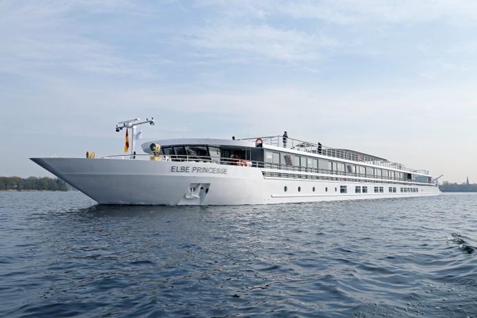 CroisiEurope répartit désormais ses cabines en 3 catégories (standard, intermédiaire et premium). Ici, l'Elbe Princesse - DR : CroisiEurope