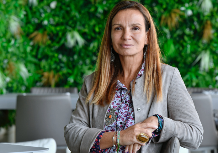 """Sandrine de Saint-Sauveur : """"La course aux fréquences, aux commandes d'avions, la concurrence à outrance, la croissance irraisonnée… Tout cela semble maintenant ridicule"""" - DR : Carlos Rodrigues"""