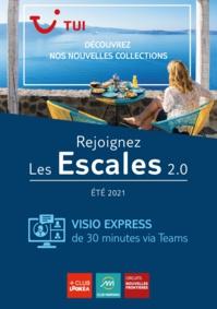 """Collection été 2021 : TUI France digitalise ses """"Escales"""""""