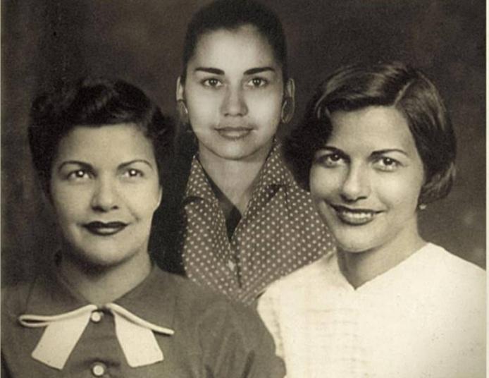 Patria, Minerva et María Teresa, furent héroïnes et martyres de la lutte contre le dictateur Rafael Trujillo, qui dirigea la République dominicaine de 1930 à 1961. On les surnommait aussi les sœurs « Mariposas » (Papillons). /crédit dr