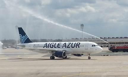 Le nouvel A320 d'Aigle Azur - DR