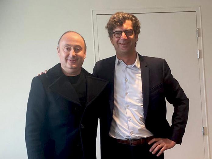 Laurent Abitbol et Hélion de Villeneuve à l'occasion du rachat d'Austral Lagons par Marietton Développement - DR