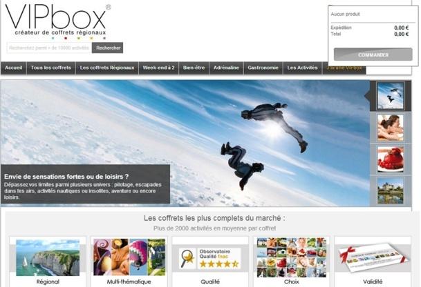 Selon certaines estimations, il pourrait rester encore de 8 000 à 10 000 coffrets VIPBox non-utilisés - Capture d'écran