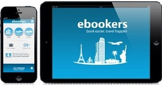 L'application eBookers est disponible sur l'AppSTore depuis le 25 avril 2013 - DR