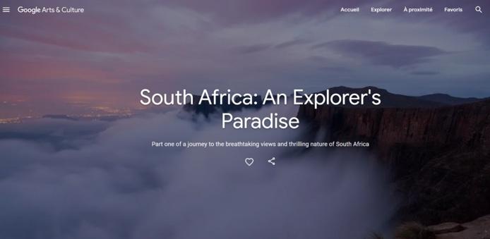 """""""La plateforme Google Arts & Culture est très efficace pour améliorer la visibilité et la notoriété du pays, et en donne un aperçu spectaculaire au reste du monde."""" - DR"""